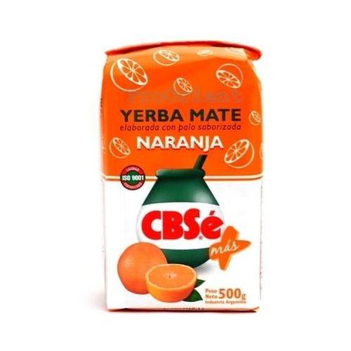Yerba Mate CBSe Naranja pomarańczowa 0,5kg (7790710334009)