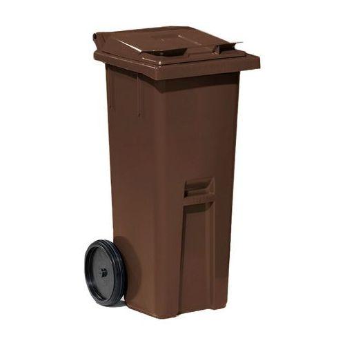 Array Brązowy kontener na odpadki o poj. 140 l - 480x540x1060mm