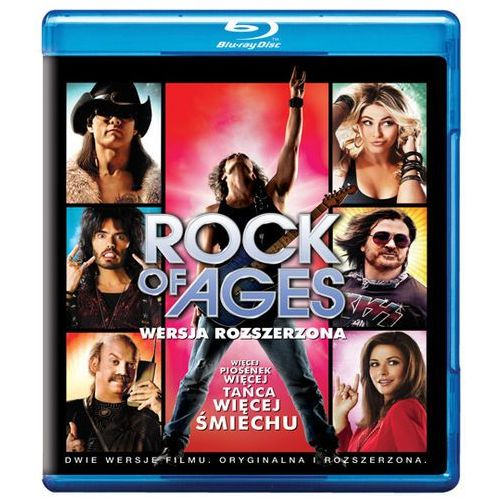 Adam shankman Rock of ages (blu-ray) - darmowa dostawa kiosk ruchu (7321999318727)
