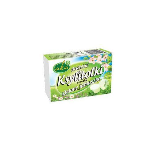 Aka Draże ksylitolowe o smaku zielonego jabłka 40g