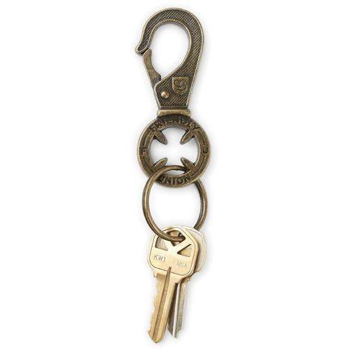 brelok na klucze BRIXTON - Height Ii Key Clip Brass (BRASS) rozmiar: OS
