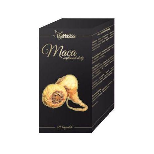 Kapsułki Maca w kapsułkach – wsparcie fizyczne – ekstrakt 4:1 60 kaps EkaMedica