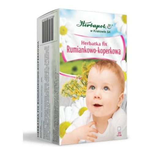 Herbatka rumiankowo - koperkowa fix - 2,0g * 20 szt marki Herbapol