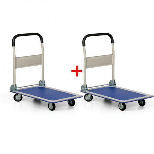 Składany wózek platformowy, nośność 150 kg, 1+1 gratis marki B2b partner