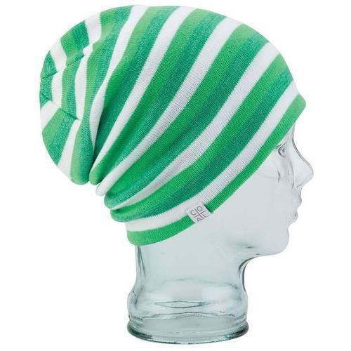 Coal Czapka zimowa - the flt stripe lime green (03) rozmiar: os