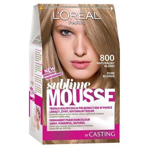 L'Oréal Farba do włosów Sublime Mousse - 800 Naturalny Blond, L'Oréal