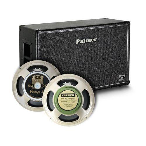 Palmer MI CAB 212 V30 GBK OB kolumna gitarowa 2 x 12″ z głośnikami Celestion Vintage 30 i Greenback, 8/16Ohm, otwarta z tyłu