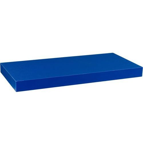 Stilista ® Niebieska półka naścienna wisząca volato 90 cm - 90 cm