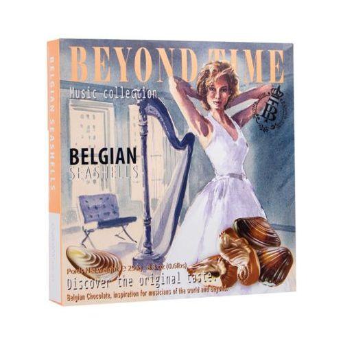 250g seashells belgijskie pralinki z nadzieniem nugatowym marki Beyond time