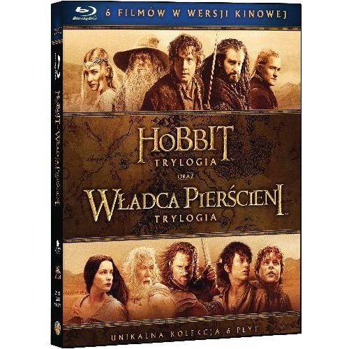 Śródziemie - Kompletna kolekcja 6 filmów (Blu-Ray) - Peter Jackson DARMOWA DOSTAWA KIOSK RUCHU (7321999343743)