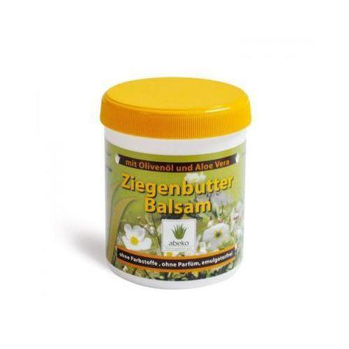 Balsam z koziego masła z oliwą i aloesem. Ziegenbutter Balsam 250 ml. Abeko