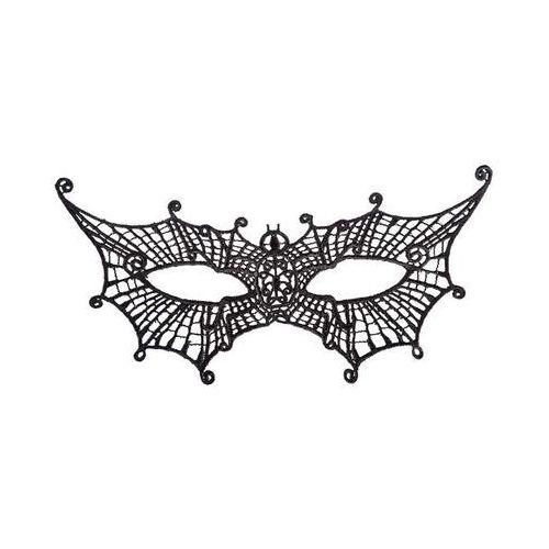 Carnival Maska karnawałowa koronkowa nietoperz - 1 szt.