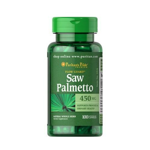 Puritan's Pride Saw Palmetto 450mg 100 kaps.