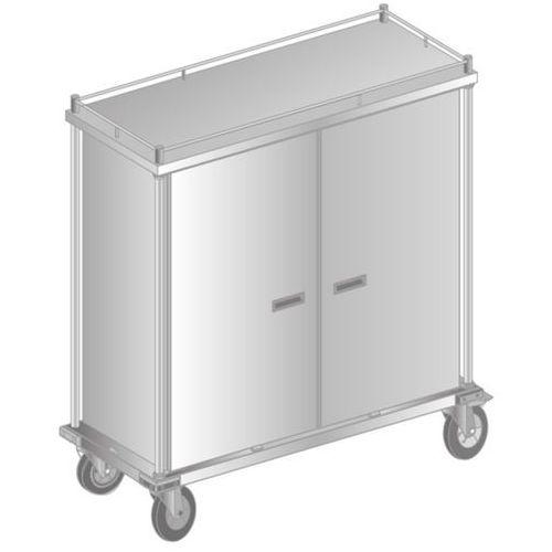 Dora metal Wózek do transportu tac termoizolacyjnych 1552x630x1673 mm   , dm-3460