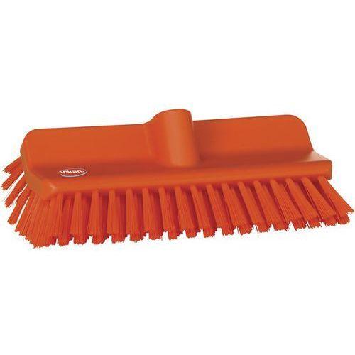 Szczotka kątowa High-Low do szorowania, średnia, pomarańczowa, 265 mm, VIKAN 70477, Vikan