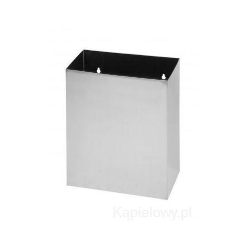 Kosz na śmieci, wiszący, prostokątny,matowy 125115045 - produkt dostępny w Kąpielowy.pl