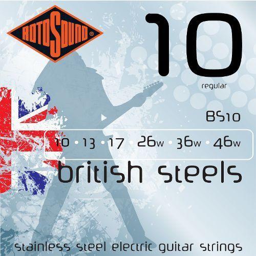 Rotosound BS10 British Steels struny do gitary elektrycznej 10-46