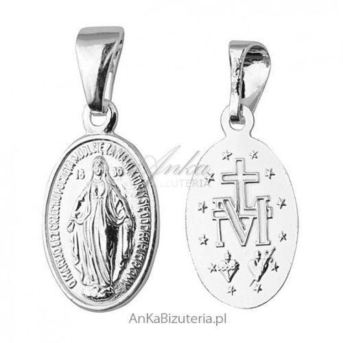 Ankabizuteria.pl medalik matka boska cudowna - srebrny medalik marki Anka biżuteria