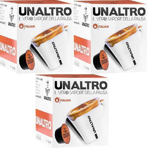 Nescaffé Dolce Gusto® kompatybilne kapsułki kawy UNALTRO mieszanka Italian 30 szt., 3298-281BE