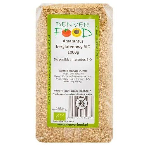Amarantus Bezglutenowy BIO 1 kg Denver Food (5904730450171)