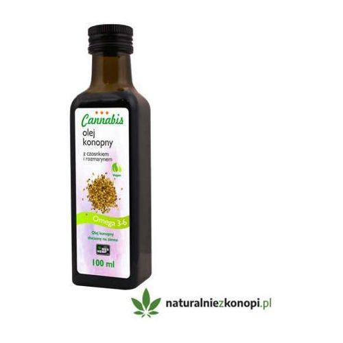 Olej konopny z czosnkiem i rozmarynem 100ml