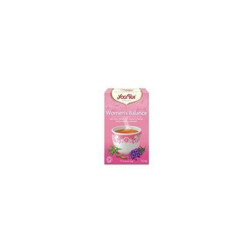 Yogi tea Herbata dla kobiet - równowaga bio 17 torebek