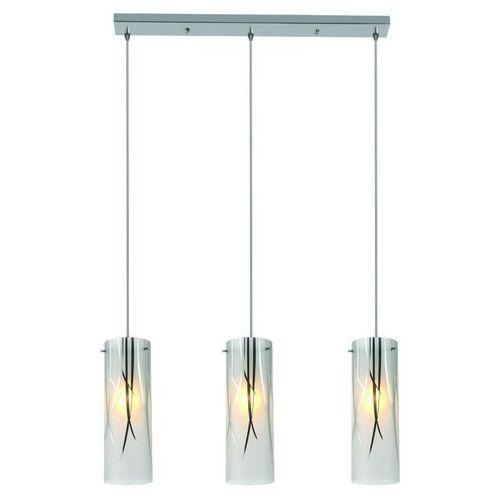 Lampa wisząca LIGHT PRESTIGE Trentino LP-5110/3P Srebrny + DARMOWY TRANSPORT!