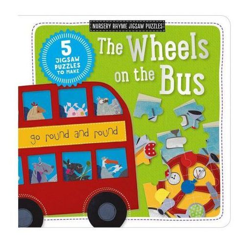 Kate Toms Jigsaw Book: The Wheels on the Bus (9781786920133)