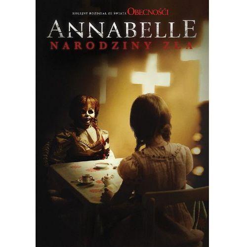 Annabelle: narodziny zła (dvd) - david f. sandberg. darmowa dostawa do kiosku ruchu od 24,99zł marki Galapagos