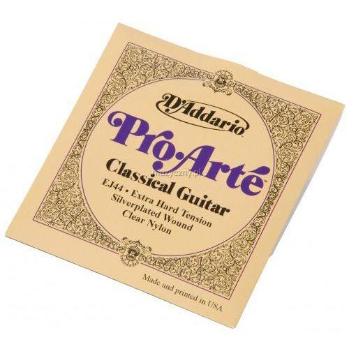 ej-44 struny do gitary klasycznej pro arte extra-hard marki D′addario