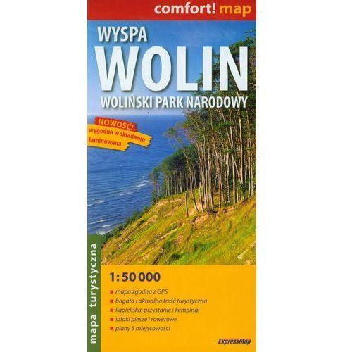 WYSPA WOLIN, WOLIŃSKI PARK NARODOWY 1 : 50 000 LAMINOWANA (9788360120545)