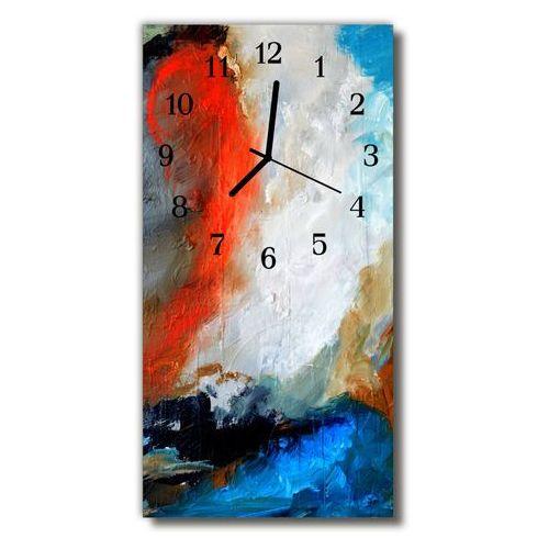 Zegar szklany pionowy malowany obraz olejny sztuka marki Tulup.pl