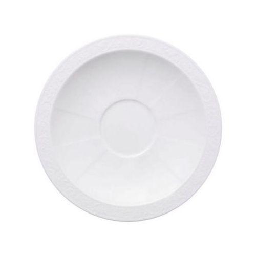 - white pearl spodek do filiżanki śniadaniowej średnica: 18 cm marki Villeroy & boch