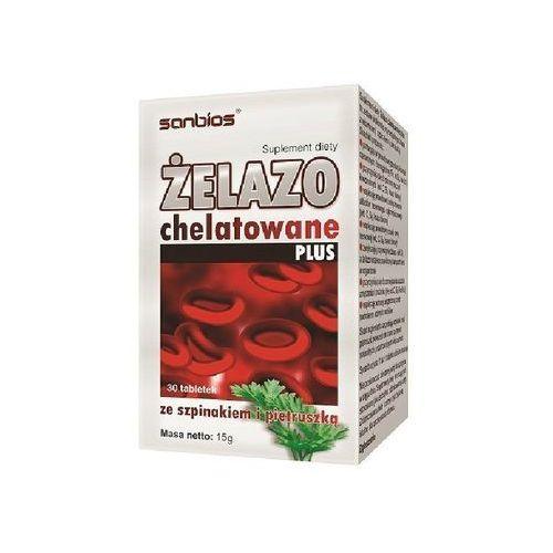Sanbios Żelazo Chelatowe 30 tab. (5908230845444)
