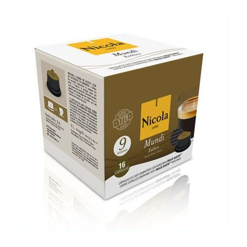 Portugalska kawa Nicola Mundi w kapsułkach Dolce Gusto 16 szt