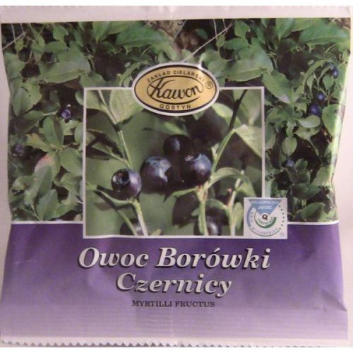 Zioł. Borówka Czernica Owoc 25 g Kawon (5909990021093)