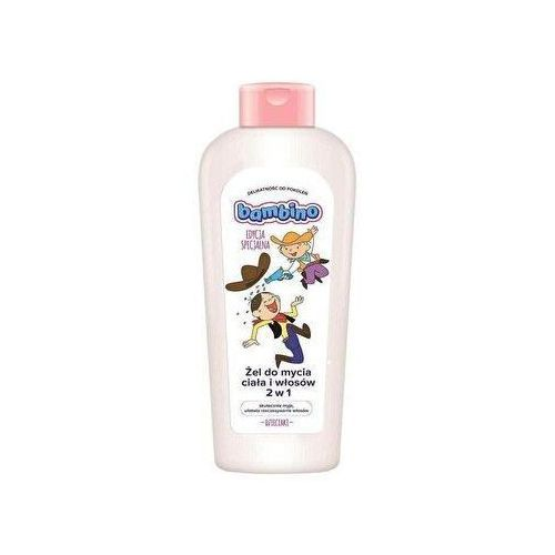 Żel do mycia ciała i włosów Bambino kowboje 400 ml