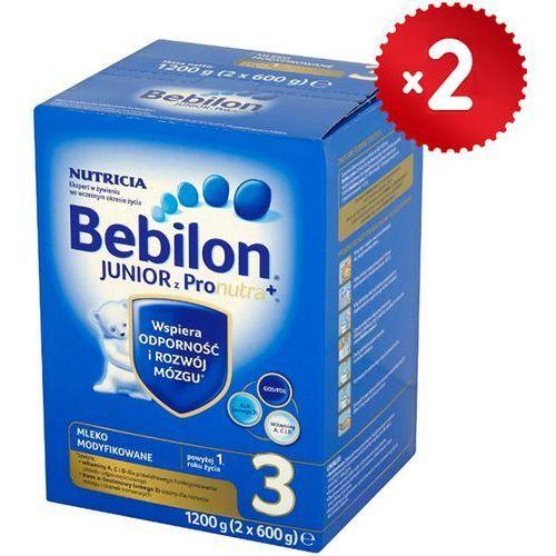 Bebilon Zestaw 2x  1200g junior 3 z pronutra mleko modyfikowane po 12 miesiącu, kategoria: mleka dla dzieci
