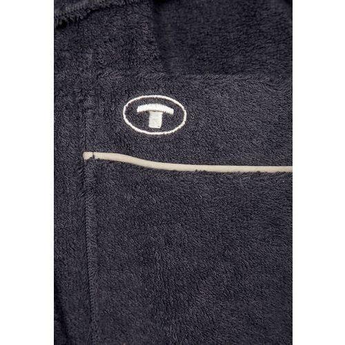 Tom Tailor WELLNESS Szlafrok grau z kategorii szlafroki damskie