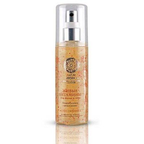 Natura siberica spray do ciała i włosów aktywne witaminy 125ml