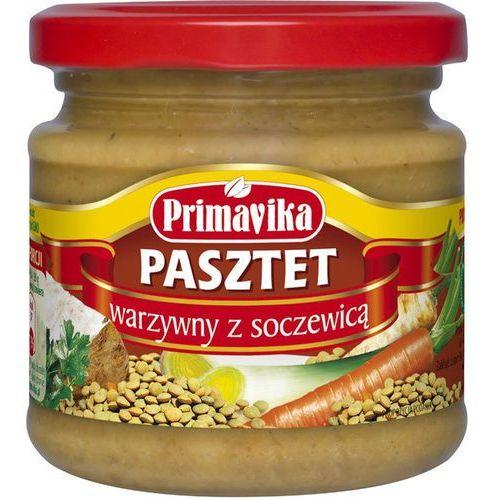 Primavika Pasztet warzywny z soczewicą bio 170g - (5900672300192)