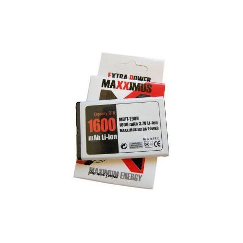 BATERIA MAXXIMUS NOKIA E90 1600mAh Li-ion BP-4L - produkt z kategorii- Baterie do telefonów