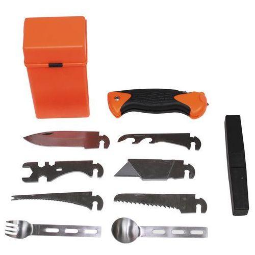 Niezbędnik mfh 27-częściowy survivalowy w pudełku marki Mfh - max fusch