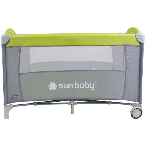 Sun baby Łóżeczko jednopoziomowe sweet dreams zielone sd707/gz
