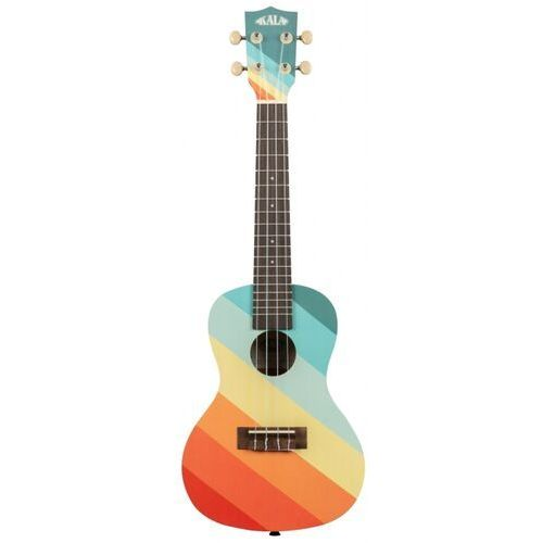 makala farout surfboard, ukulele koncertowe z pokrowcem marki Kala