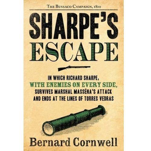 Sharpe's Escape. Sharpes Flucht, englische Ausgabe, Bernard Cornwell