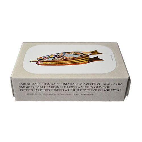 """Jose gourmet Portugalskie mini sardynki """"petingas"""" wędzone w oliwie z oliwek extra virgin125g"""