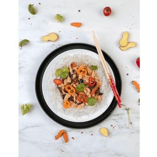 Sportfood Makaron sojowy stir-fry z kurczakiem, chińskimi warzywami, ananasem i chilli / niepasteryzowane