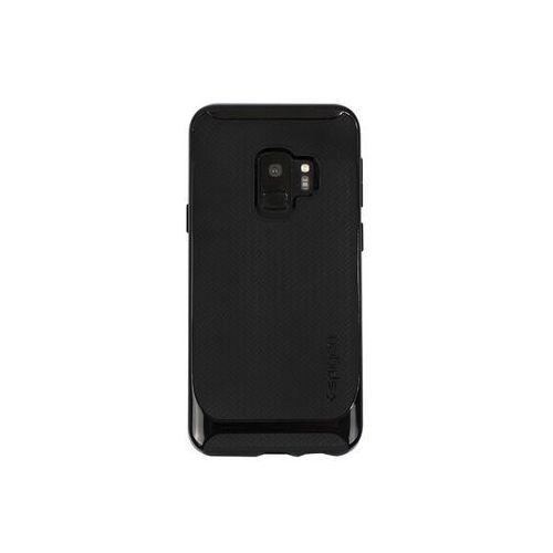 Samsung Galaxy S9 - etui na telefon Spigen Neo Hybrid - Shiny Black, kolor czarny
