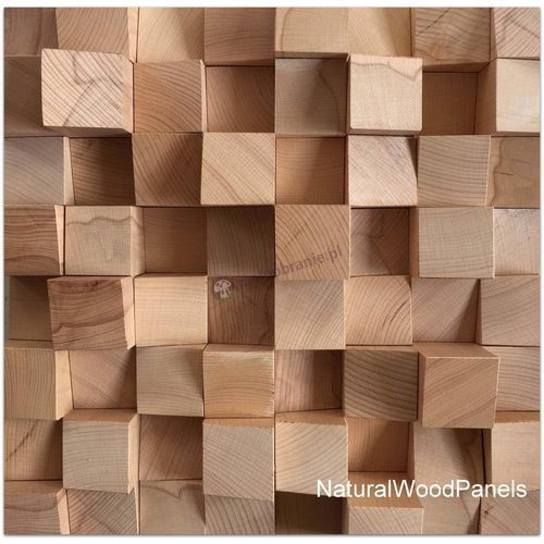 Panele drewniane Dyfuzor Panel AKUSTYCZNY #3 Buk 32x32cm - , marki Natural Wood Panels do zakupu w Meblobranie.pl